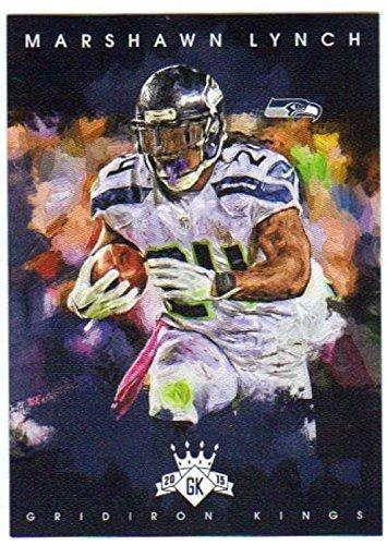 2015 Panini Gridiron Kings #62 Marshawn Lynch Seahawks NFL Football Card ()