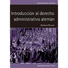 Introducción al derecho administrativo alemán (CIENCIAS SOCIALES nº 1) (Spanish Edition)