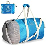 Travel Inspira Foldable Duffel Packable Carry On Collapsible lightweight Sport Gym Bag