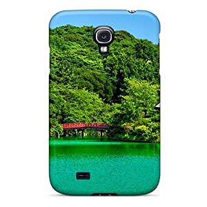 Hard Plastic Galaxy S4 Case Back Cover,hot Beautiful Lake In Hawaii Case At Perfect Diy