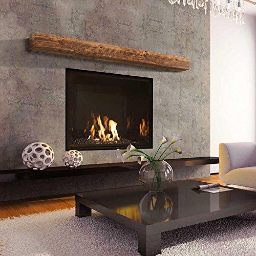 "72"" Sundance Rustic Mantel Shelf with Glaze"