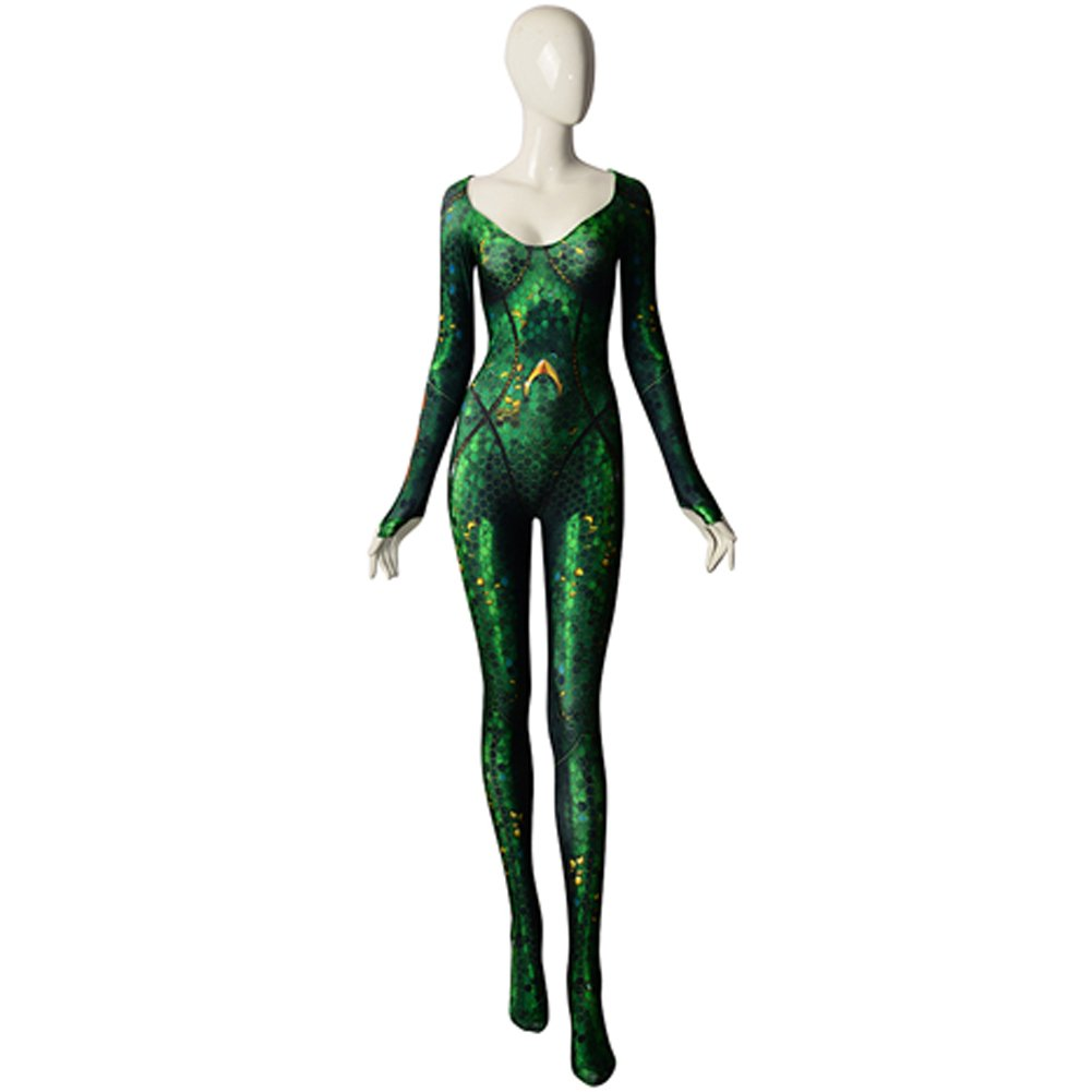 ourworth Mera Cosplay Costume Aquaman Film Mera Bodysuit