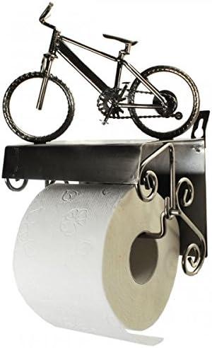 Papel higiénico de metal para colgar en la bicicleta Soporte para ...
