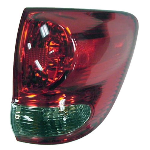 TYC 11-6113-00 Toyota Sequoia Passenger Side Replacement Tail Light Assembly (Sequoia Toyota Corner)