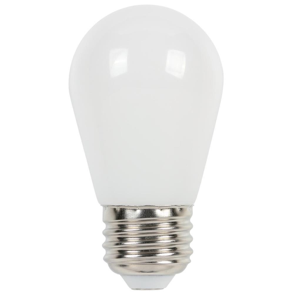 Westinghouse Lighting 3511500 11-Watt Equivalent S14 Frosted LED Light Bulb with Medium Base
