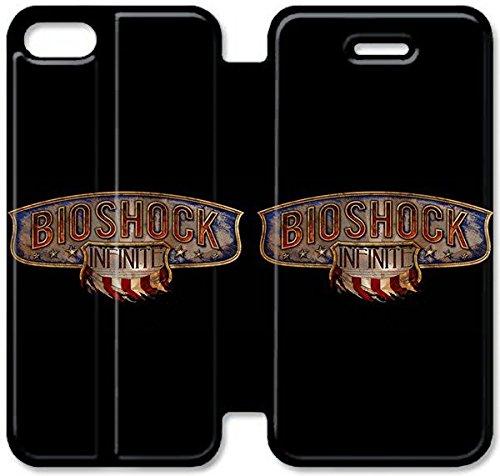 Funda iPhone 6 6S Plus 5.5 Inch Funda de cuero [Buen regalo bonito regalo] [Bioshock Infinite] [Card/Cash Slots] Protectora caja del teléfono para iPhone 6 6S Plus 5.5 Inch X1Z6DN