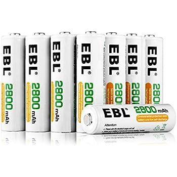 Amazon.com: AmazonBasics AA Rechargeable Batteries (16