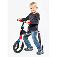 Scoot & Ride highwayfreak 2-in-1 Scooter & Balance Bike ,Ride On-Red