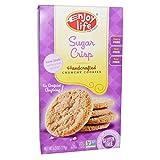 Enjoy Life Foods, Handcrafted Crunchy Cookies, Sugar Crisp, 6.3 oz(Pack of 3)