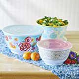 The Pioneer Woman Flea Market Floral 6pc Bowl Set