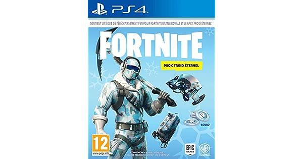 Fortnite : Pack froid éternel [Importación francesa]: Amazon.es: Videojuegos