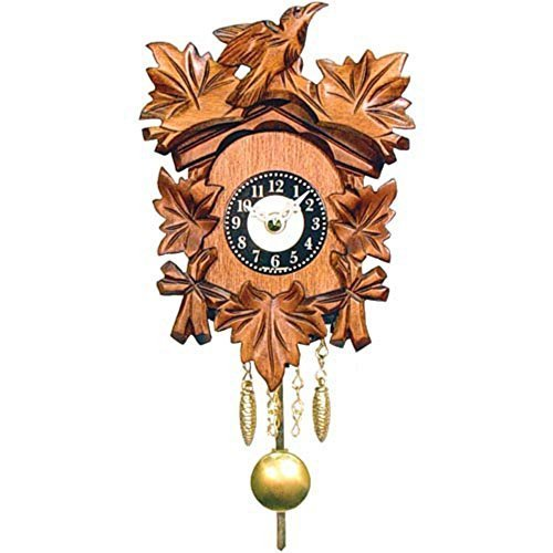 Age-Old Bird and Leaf Motif Cuckoo Clock Alexander Taron