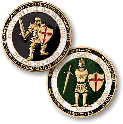 Armor of God Coin (Armor Of God Bible Lesson For Kids)