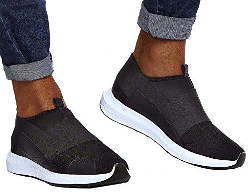 LEIF NELSON Sneaker Nero LN151 uomo 0RUw0x