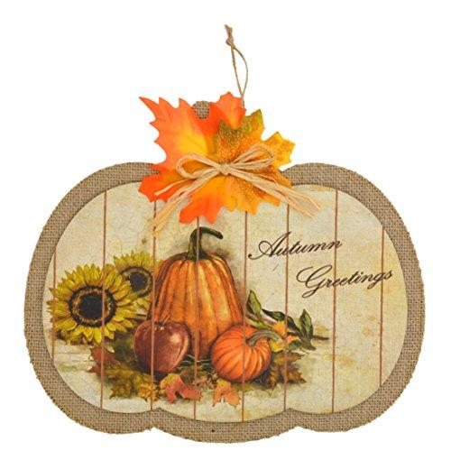 Fall Pumpkin Hanging Décor Halloween thanksgiving
