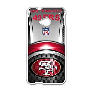San Francisco 49ers Brand New And High Quality Hard Case Cover Protector For HTC M7
