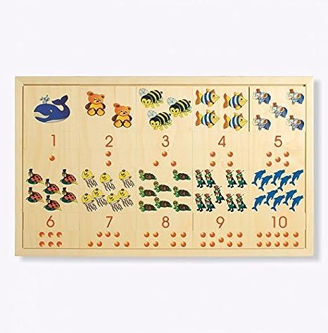 DIDA Zahlen Zeichnungen und Mengen Spiel aus Mosaiksteinen Um Zahlen Zeichnungen und die entsprechenden Mengen zu Lernen.