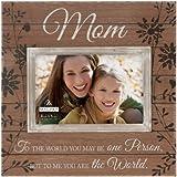 malden international designs sun washed words mom walnut distressed picture frame 4x6
