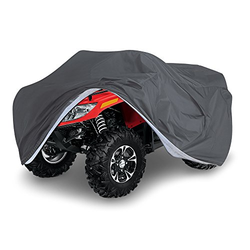 - OxGord Executive Storm-Proof ATV Cover - 100% Water-Proof 7 Layers - Ready-Fit/Semi Custom - Fits up to 99 inches
