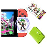 splatoon 2 NFC Tags Game Cards, Switch Wii U & New 3DS splatoon Game Items Cards (16pcs)