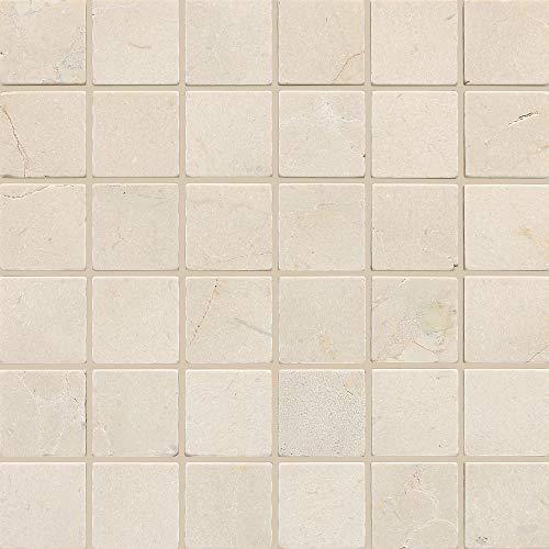 Dal-Tile M72222MSTS1P- Marble Tile, Crema Marfil Classico Tumbled