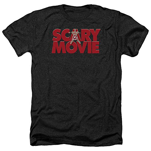 Scary Movie Logo Heather T-shirt, Black, Large]()