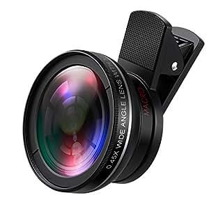 Amazon.com: AMIR Phone Camera Lens, 0.45X Super Wide Angle