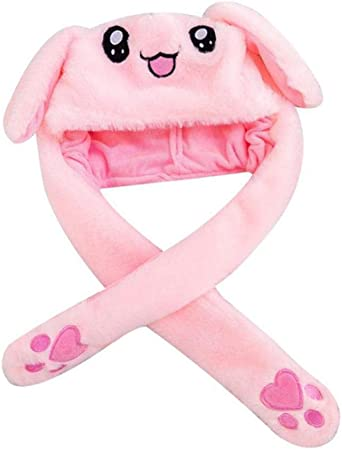 Desirabely Cappello Animale con Airbag Salto Coniglio