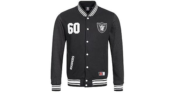 Majestic Oakland Raiders Lutkin Letterman NFL chaqueta de ...