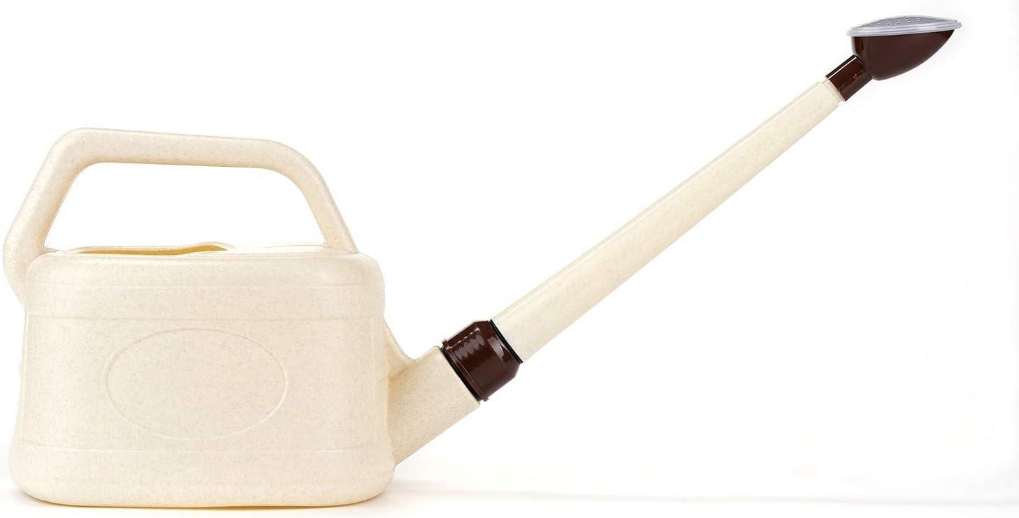 Bonsai Pavia   Regadera para Bonsais de Plástico   Pequeña con Efecto Lluvia Fina y con Capacidad de 3 litros   Ligera y Válida para Reglar Otras Plantas del Jardín
