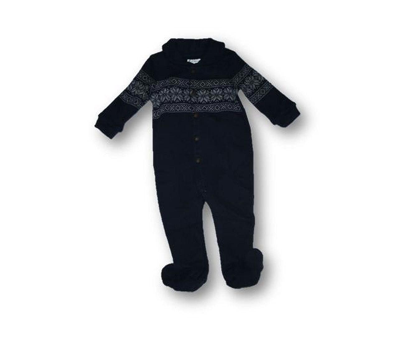 9 months Ralph Lauren Polo Baby Boys Fair Isle Fleece Romper Coverall