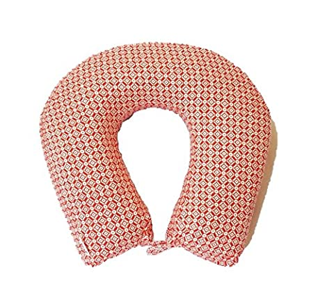 Kanyoga Memory Foam Neck Pillow Comfortable Travel Pillow Printed Red And (Lavanda Collo Wrap)