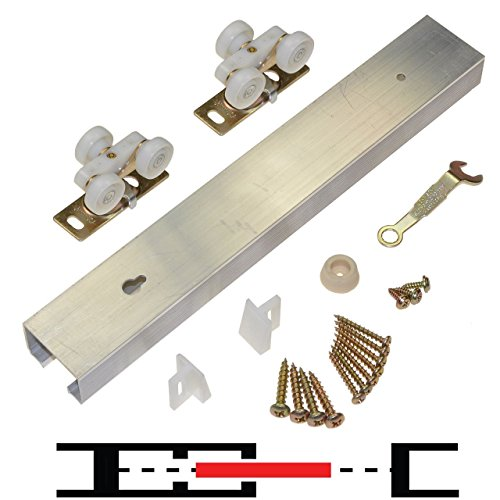 100PD Commercial Grade Pocket/Sliding Door Hardware (60'') by Johnson Hardware