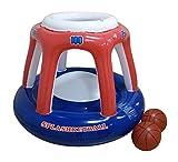 RhinoMaster Play Splashketball Basketball Pool Toy, Orange, Blue, 45'' L x 36'' W