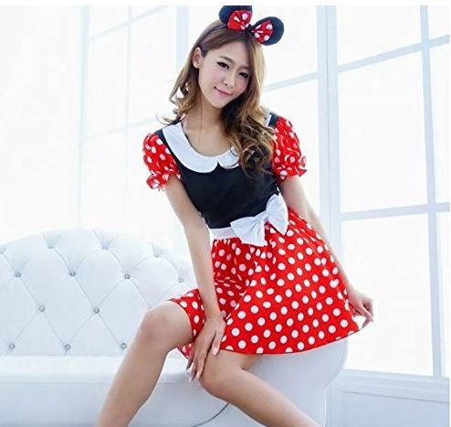 Halloween Amusement Park Mouse Costume (Hot Costumes For Couples)