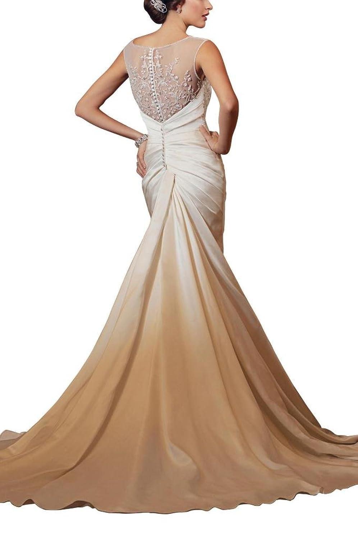 GEORGE BRIDE Organza backless Sexy black wedding dresses