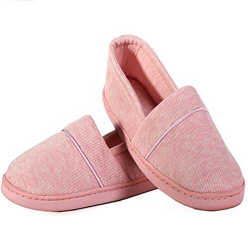 Pantofole Da Donna Ribaltabili Ribaltabili Leggere Scarpe Da Interno / Casa Morbide Con Suole Antiscivolo Rosa
