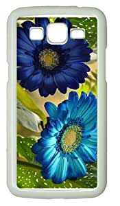 coolest casesblue gerbera PC White case/cover for Samsung Galaxy Grand 2/7106