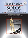 img - for WF123 - First Festival Solos for Trumpet (with Piano Accompaniments) BK/CD book / textbook / text book