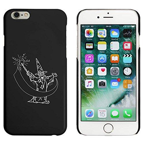 Noir 'Assistant avec la Baguette' étui / housse pour iPhone 6 & 6s (MC00024685)