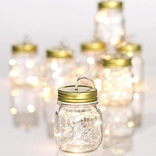 RAZ Mason Jar String Light -
