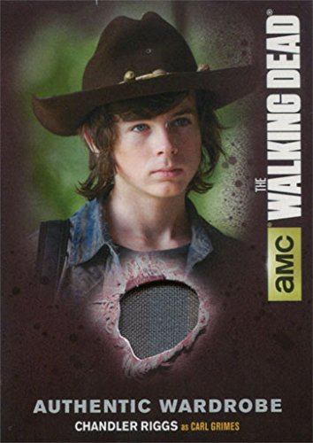 Carl Costumes (Walking Dead Season 4 Part 1 M17 Wardrobe Card Chandler Riggs as Carl Grimes)