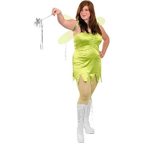 amazoncom plus size sexy tinkerbell costume sz large 8 10 clothing