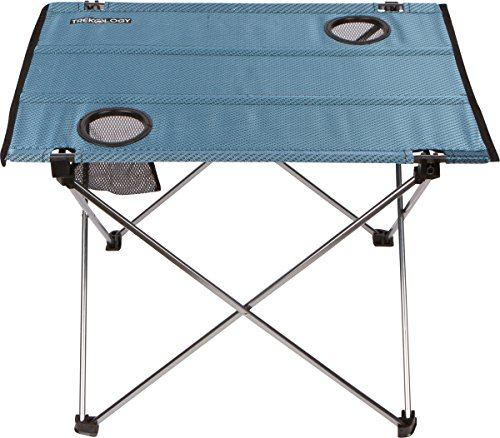 Trekology foldable camping picnic table portable compact lightweight folding roll up table in a - Low portable picnic table in a bag ...