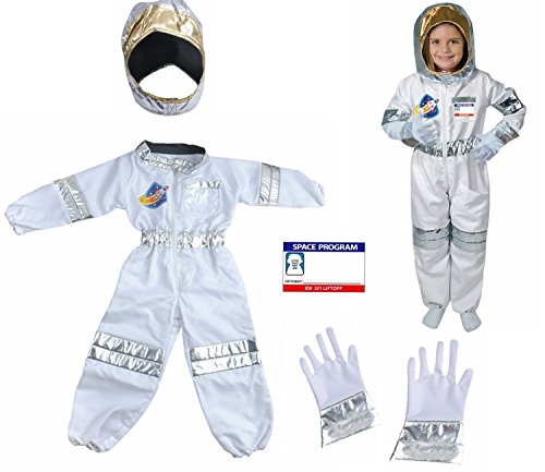 GradPlaza Children Role Play Astronaut Costume Set