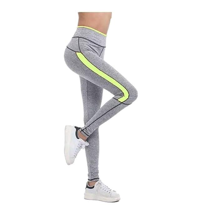 Fliegend Leggings Mujer Cintura Alta Pantalones de Yoga a ...