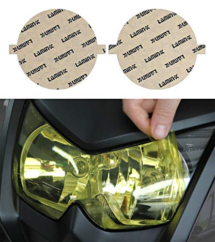 "Lamin-x Harley 4"" Round Auxiliary Headlight Film Covers for sale  Delivered anywhere in USA"