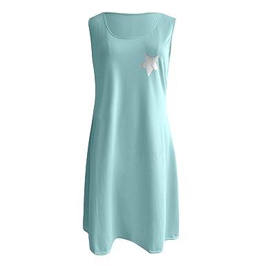 Amazon.com: ChainSee Hot Plus Size Women Summer Dress Sweet ...