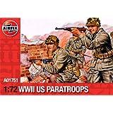 Airfix - U.S. Paratroops, set de figuras (Hornby A01751)