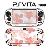 Decorative Video Game Skin Decal Cover Sticker for Sony PlayStation PS Vita (PCH-1000) - Sweet Floral Pink